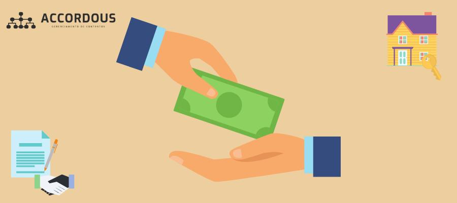 garantia de aluguel: caução em dinheiro